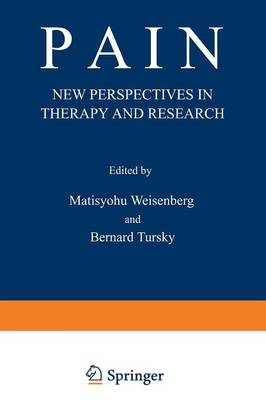 Pain: New Perspectives in Therapy and Research (Paperback)