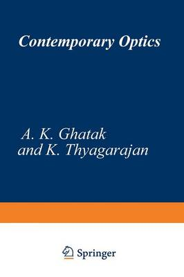 Contemporary Optics - Optical Physics and Engineering (Paperback)