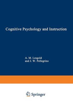 Cognitive Psychology and Instruction - III Human Factors 5 (Paperback)