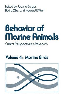 Behavior of Marine Animals: Current Perspectives in Research. Marine Birds (Paperback)