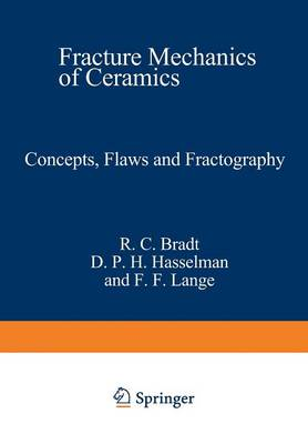 Concepts, Flaws, and Fractography - Fracture Mechanics of Ceramics 1 (Paperback)
