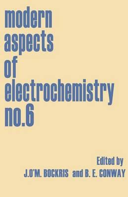 Modern Aspects of Electrochemistry No. 6 (Paperback)