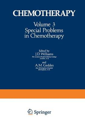 Special Problems in Chemotherapy - Chemotherapy 3 (Paperback)