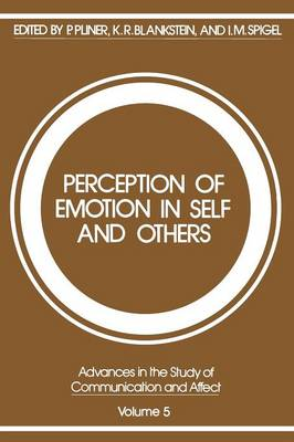 Perception of Emotion in Self and Others - Advances in the Study of Communication and Affect 5 (Paperback)