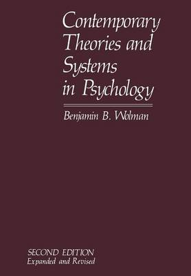 Contemporary Theories and Systems in Psychology (Paperback)