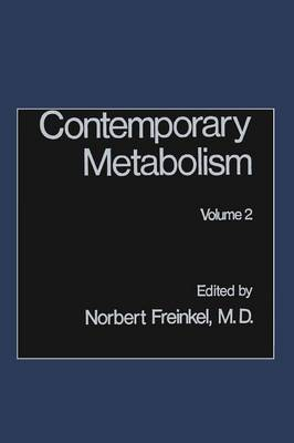 Contemporary Metabolism: Volume 2 (Paperback)