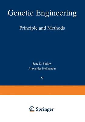 Genetic Engineering: Principles and Methods - Genetic Engineering: Principles and Methods 8 (Paperback)