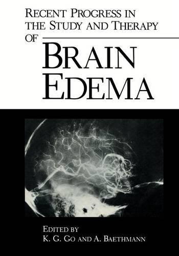 Recent Progress in the Study and Therapy of Brain Edema (Paperback)