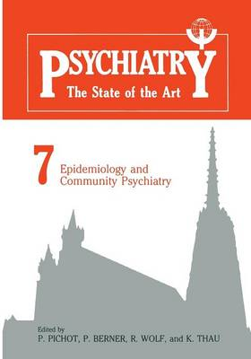 Epidemiology and Community Psychiatry (Paperback)