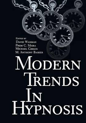 Modern Trends in Hypnosis (Paperback)