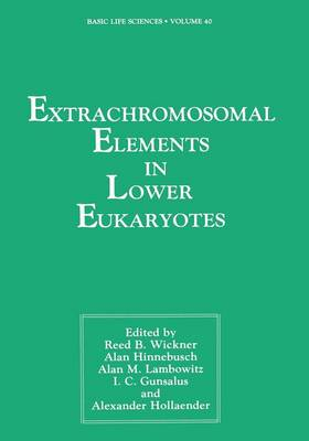 Extrachromosomal Elements in Lower Eukaryotes - Basic Life Sciences 40 (Paperback)