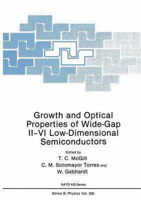 Growth and Optical Properties of Wide-Gap II-VI Low-Dimensional Semiconductors - NATO Science Series B 200 (Paperback)
