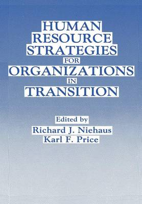 Human Resource Strategies for Organizations in Transition (Paperback)
