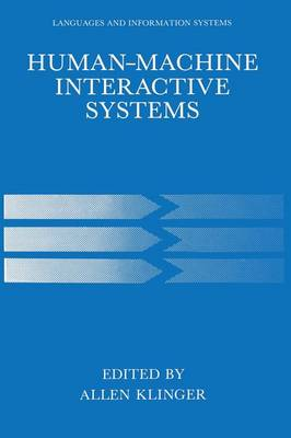 Human-Machine Interactive Systems - Languages and Information Systems (Paperback)