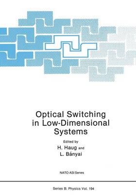 Optical Switching in Low-Dimensional Systems - NATO Science Series B 194 (Paperback)
