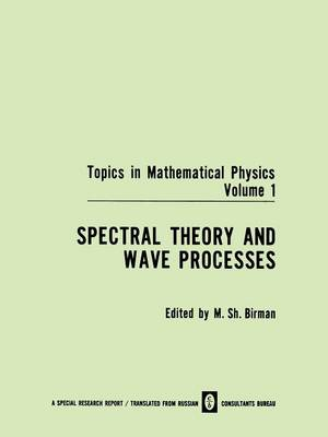 Spectral Theory and Wave Processes - Topics in Mathematical Physics 4 (Paperback)