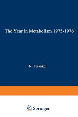 The Year in Metabolism 1975-1976 (Paperback)