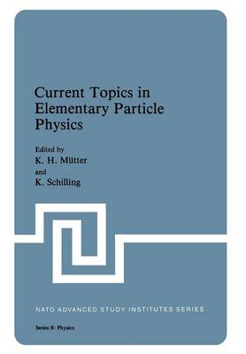 Current Topics in Elementary Particle Physics - NATO Science Series B 70 (Paperback)