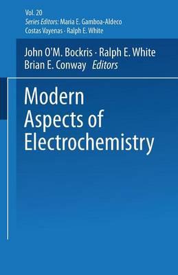 Modern Aspects of Electrochemistry No. 20 - Modern Aspects of Electrochemistry 20 (Paperback)