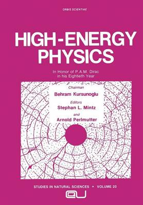 High-Energy Physics: In Honor of P.A.M. Dirac in his Eightieth Year - Studies in the Natural Sciences 20 (Paperback)