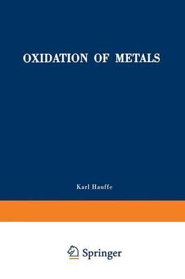 Oxidation of Metals (Paperback)