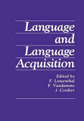 Language and Language Acquisition (Paperback)