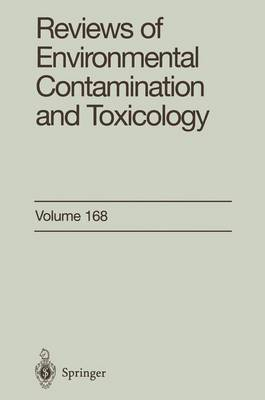 Reviews of Environmental Contamination and Toxicology: Continuation of Residue Reviews - Reviews of Environmental Contamination and Toxicology 172 (Paperback)