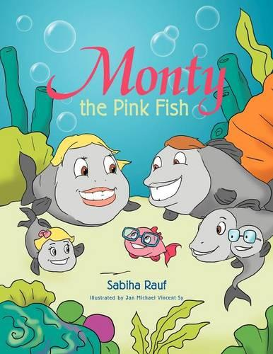 Monty the Pink Fish (Paperback)