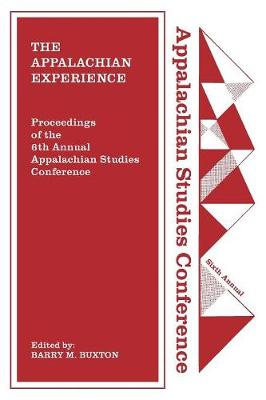 The Appalachian Experience (Paperback)