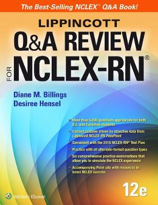 Lippincott Q&A Review for NCLEX-RN (Paperback)