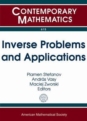 Inverse Problems and Applications - Contemporary Mathematics (Paperback)