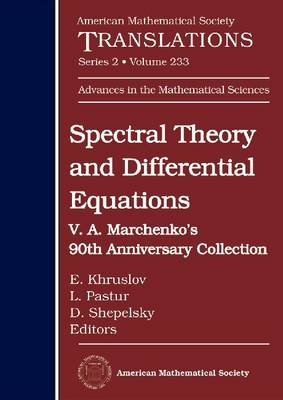Spectral Theory and Differential Equations: V.A. Marchenko's 90th Anniversary Collection - American Mathematical Society Translations--Series 2 (Hardback)