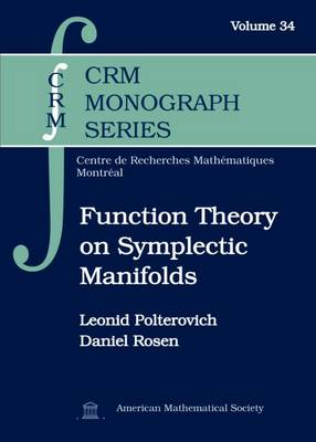 Function Theory on Symplectic Manifolds - CRM Monograph Series (Hardback)