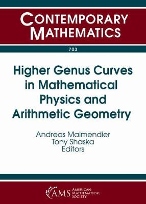 Higher Genus Curves in Mathematical Physics and Arithmetic Geometry - Contemporary Mathematics (Paperback)