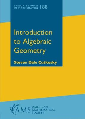 Introduction to Algebraic Geometry - Graduate Studies in Mathematics (Hardback)