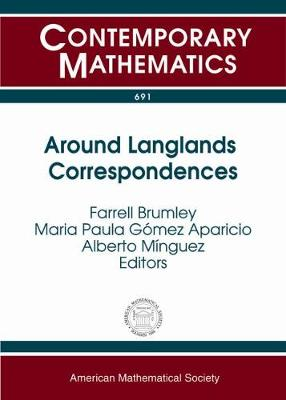 Around Langlands Correspondences - Contemporary Mathematics (Paperback)