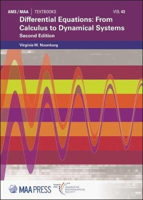 Differential Equations: From Calculus to Dynamical Systems - MAA Textbooks (Hardback)