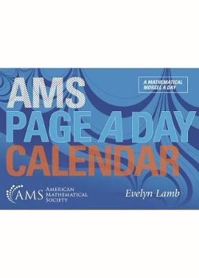 AMS Page a Day Calendar (Paperback)