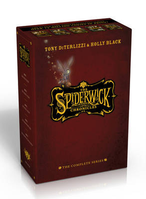 The Spiderwick Chronicles: The Complete Series Slipcase: The Field Guide; The Seeing Stone; Lucinda's Secret; The Ironwood Tree; The Wrath of Mulgarath (Hardback)
