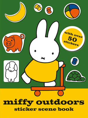 Miffy Outdoors Sticker Scene Book - MIFFY (Paperback)