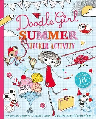 Doodle Girl Summer Sticker Activity (Paperback)