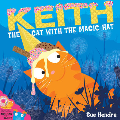 Keith the Cat with the Magic Hat (Board book)