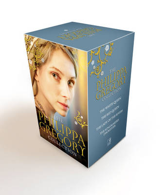 Philippa Gregory Box Set: White Queen, Red Queen, Lady of the Rivers, Kingmaker's Daughter (Paperback)