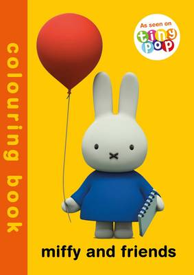 Miffy and Friends Colouring Book (Paperback)