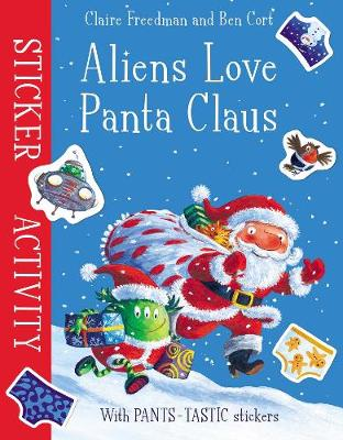 Aliens Love Panta Claus: Sticker Activity (Paperback)