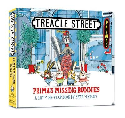 Prima's Missing Bunnies - Treacle Street (Board book)