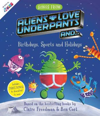 Songs From Aliens Love Underpants (Paperback)
