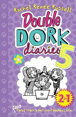 Double Dork Diaries #5: Drama Queen and Puppy Love - Dork Diaries (Paperback)
