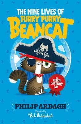 Furry Purry Beancat: The Pirate Captain's Cat - Furry Purry Beancat 1 (Paperback)