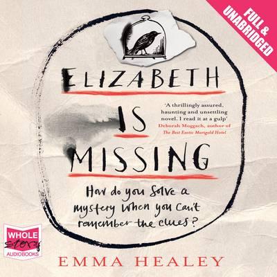 Elizabeth is Missing (CD-Audio)